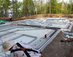 Legalett Insulated Slab and Founation Forms and Radiant Floor Heating