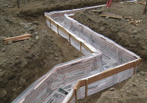 Fab-Form fabric formwork for concrete footings & columns in Massachusetts and the Atlantic coast