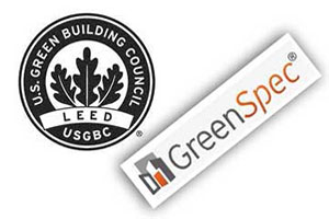 Fastfoot concrete forming products are GreenSpec Listed and contribute to USGBC LEED categories for MA