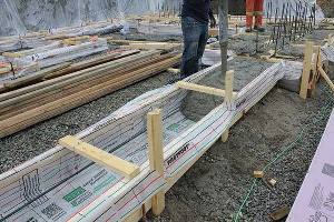 Fastfoot Fabric Formwork for Concrete Footings & Pad Edging